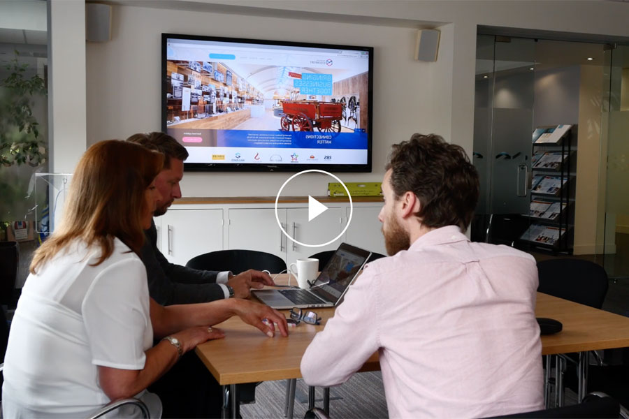 View video testimonial by Marketing Stockport